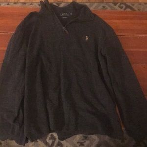 Charcoal gray Ralph Lauren sweater